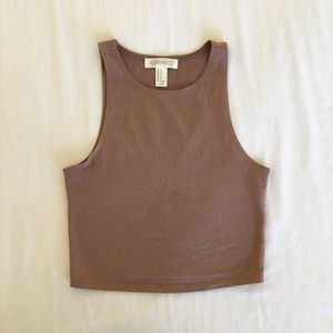 Mauve Crop Top